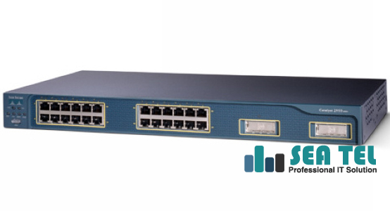 CISCO WS-C2950G-24-EI-DC SWITCH